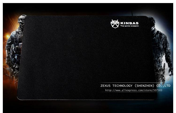 New Fashion Kinbas Brand 260 X 210 X 2 Mm Rubber Material Mouse Pad Pc Computer