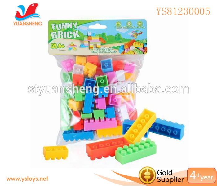 DIY Bricks Intellect Blocks Toys,Education Brick Toy For Sale,Plastic Blocks Toys For Kids(China (Mainland))