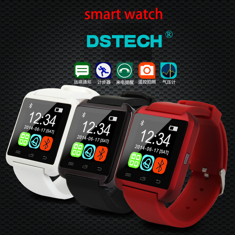 """1.44"""" Capacitive Touch Screen Smart Watch Phone Bluetooth GSM SmartWatch Mobile Phone 2015 New Fashion S18(China (Mainland))"""