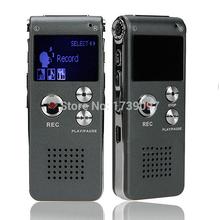 8GB Brand Spy Mini USB Flash Digital Audio Voice Recorder 650Hr Dictaphone MP3 Player Grey Pen