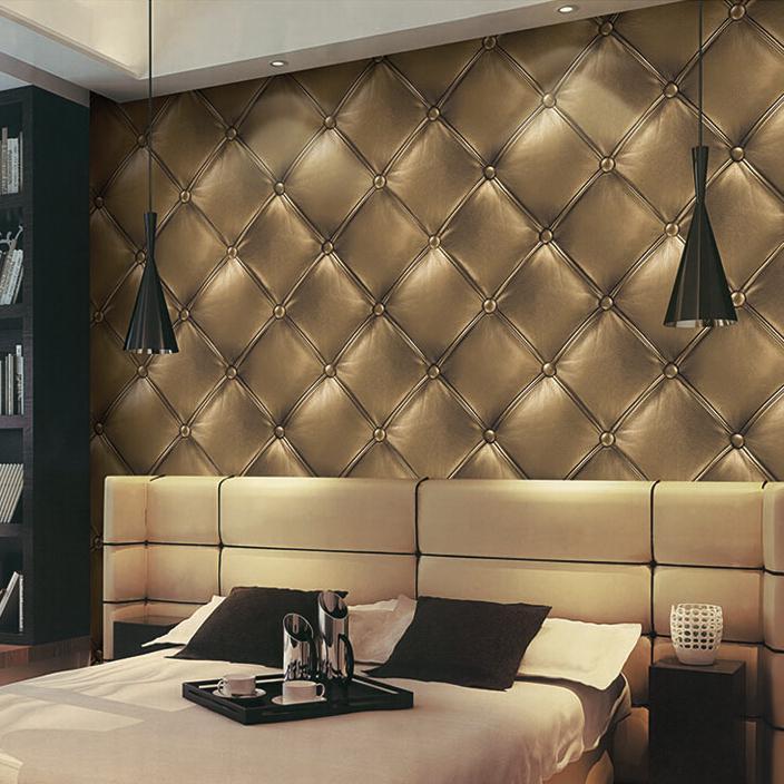 Online kopen wholesale leder behang uit china leder behang groothandel for Trend wallpaper voor volwassen kamer