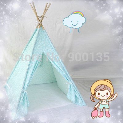 Children Tent Baby Playhouse Tent Birthday Gift Indian Kids Indoor and Outdoor Tent(China (Mainland))