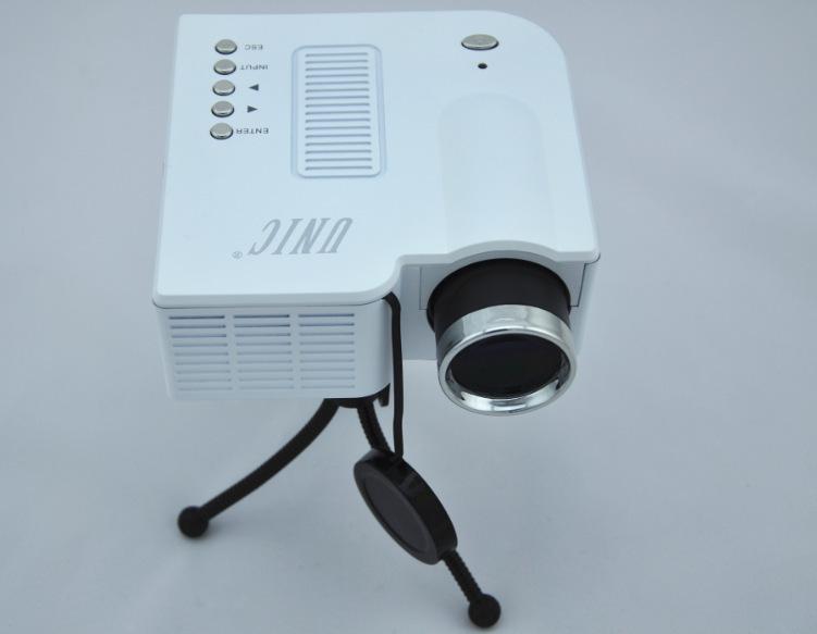Ni Deli Portable Mini LED mini projector 1080P HD home projector manufacturers, wholesale(China (Mainland))