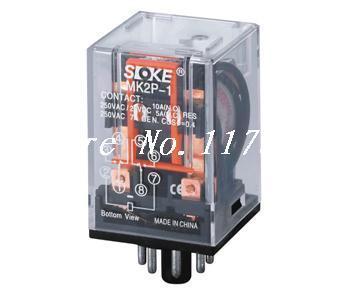 Power Relay MK3P-I 110V Coil 7/10A 250V 11 Pins 3PDT & PF083A Socket General Purpose(China (Mainland))