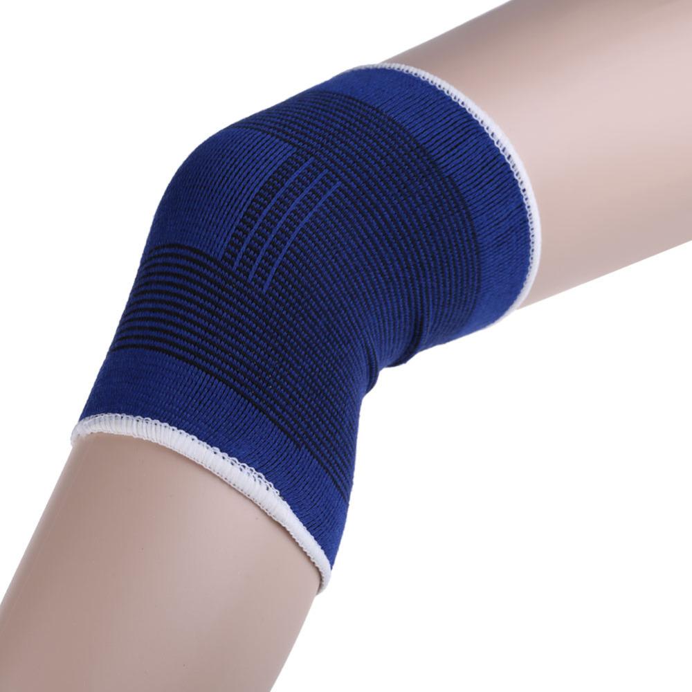 Free Shipping Hot Sale Knee Support Brace Leg Arthritis Injury Gym Sleeve Elasticated Bandage Pad #TAE(China (Mainland))
