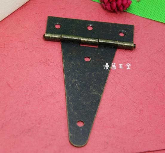 100mm Tee hinge,steel hinge box hinge,box use hardware strap hinge 20pcs(China (Mainland))