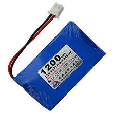 Шун 1200 мАч 3.7 В литий-ионная аккумуляторная батарея беспроводной телефон 603450 603048 мобильный динамик