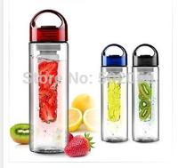 700MLHigh Quality  BPA FREE TRITAN Fruit  Infuser Water Bottle Sports Health Lemon Juice Make Bottle