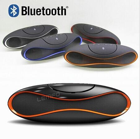 2015 New Football Wireless Bluetooth Speaker TF USB FM Radio with Mp3 Palyer Mini Subwoofer Retail Box Free Shipping(China (Mainland))