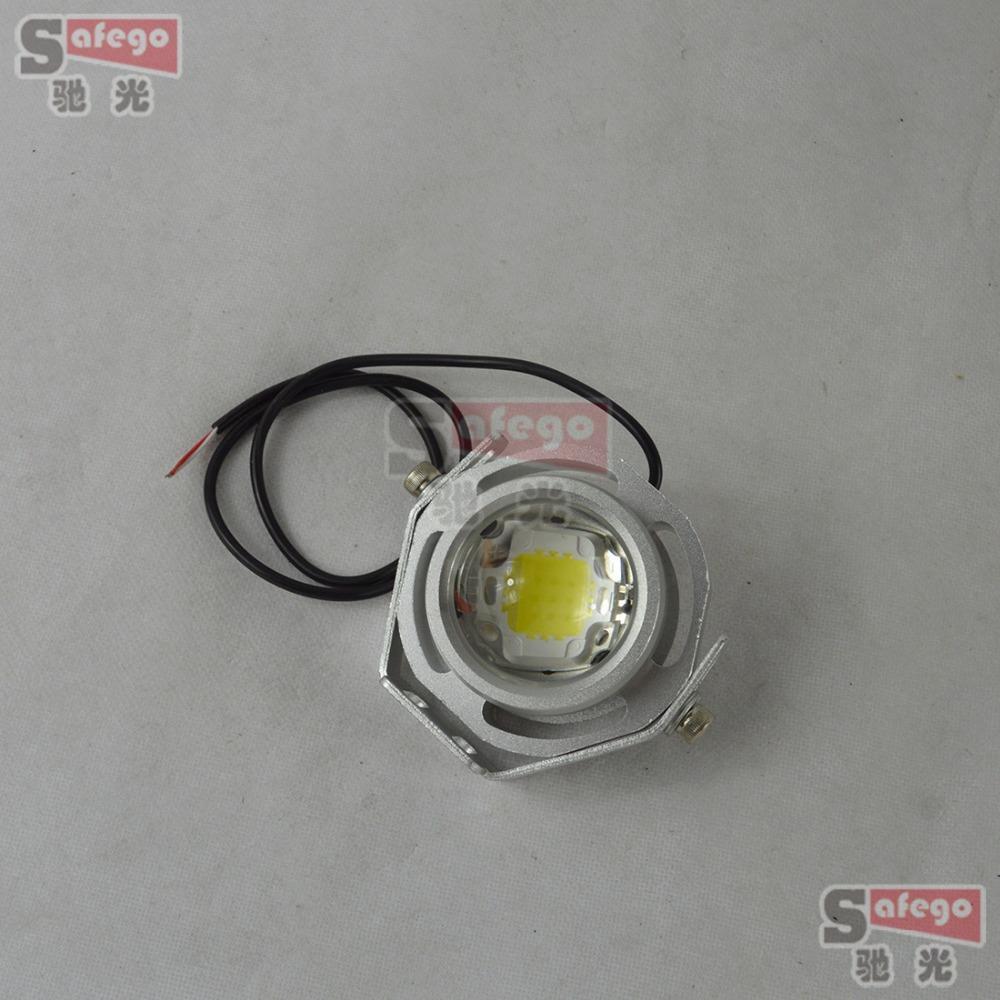 10 pcs 10W CREE DRL LED Eagle Eye 1000LM LED Eagle Eye Car Reverse Backup Parking Signal Light Lamp waterproof white shell(China (Mainland))