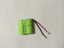 Высокое качество новый KX 2.4 В 800 мАч 2 / 3AA Ni MH аккумулятор аккумуляторная батарея с вилкой бесплатная доставка