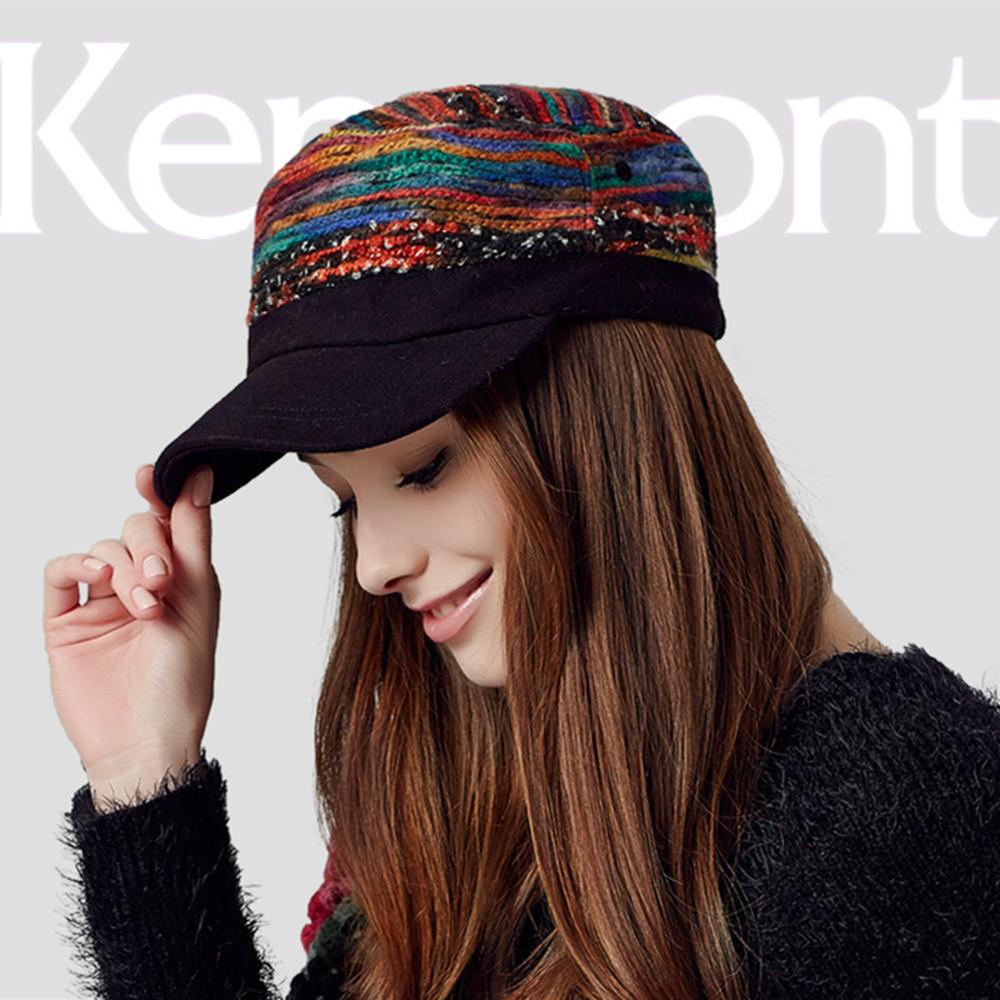 Hot Selling Cap Snapback Kenmont Autumn Winter Women Polyester Casual Cadet Baseball Cap Peak Adjustable Marcas Hat E-2284(China (Mainland))