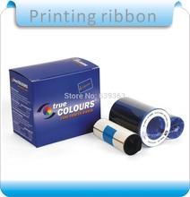 Free shipping Zebra P330i P320i P330i P420i P430i and P520i Card Printer YMCKO Color Ribbon 800015-440 Compatible
