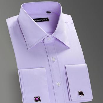 Высокое качество мужская роскошный французский манжеты кнопка рубашки 2015 новое ...