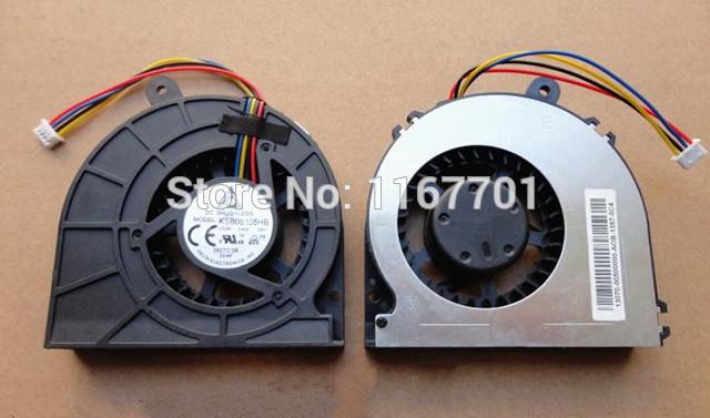 100% Original Laptop CPU Cooling Fan For Asus Eee Box PC EB1501 EB1502 B202 series notebook KSB06105HB-9E2S 5V 0.4A 4pin Cooler(China (Mainland))