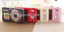 "Hot! Rich color 15MP 5X optical zoom digital camera 720P HD camcorder 2.7"" color panel anti-shake rich Color Ordro camera T12(China (Mainland))"