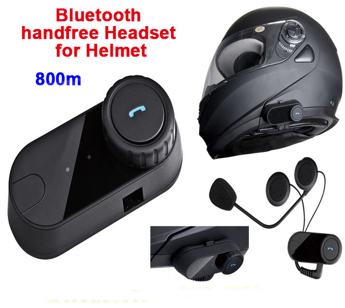 2.1+EDR 8 Hours Waterproof BT Wireless Bluetooth Headsets Motorcycle Helmets Hand Free Headphone Control For MP3/4 Radio iPod(China (Mainland))