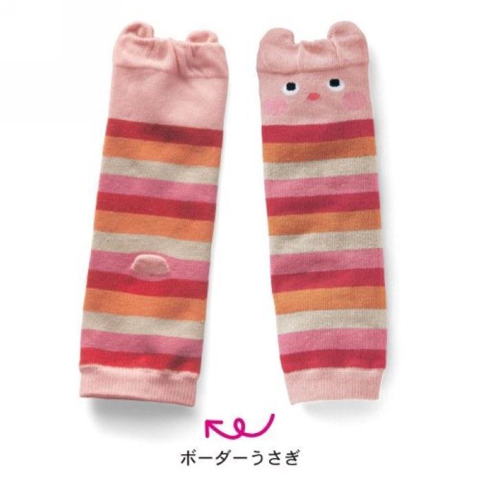 5 pairs/lot дети хлопок ноги теплые малыша kneepads комикс младенческой леггинсы