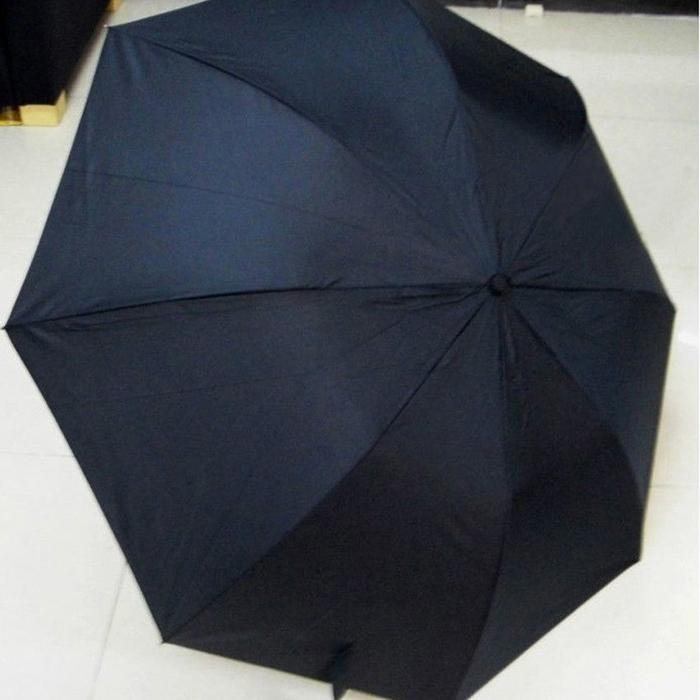 New Fashion Men Automatic Novelty Items Umbrella Two folding Black Personality Handle Umbrellas Sun Rain Wind