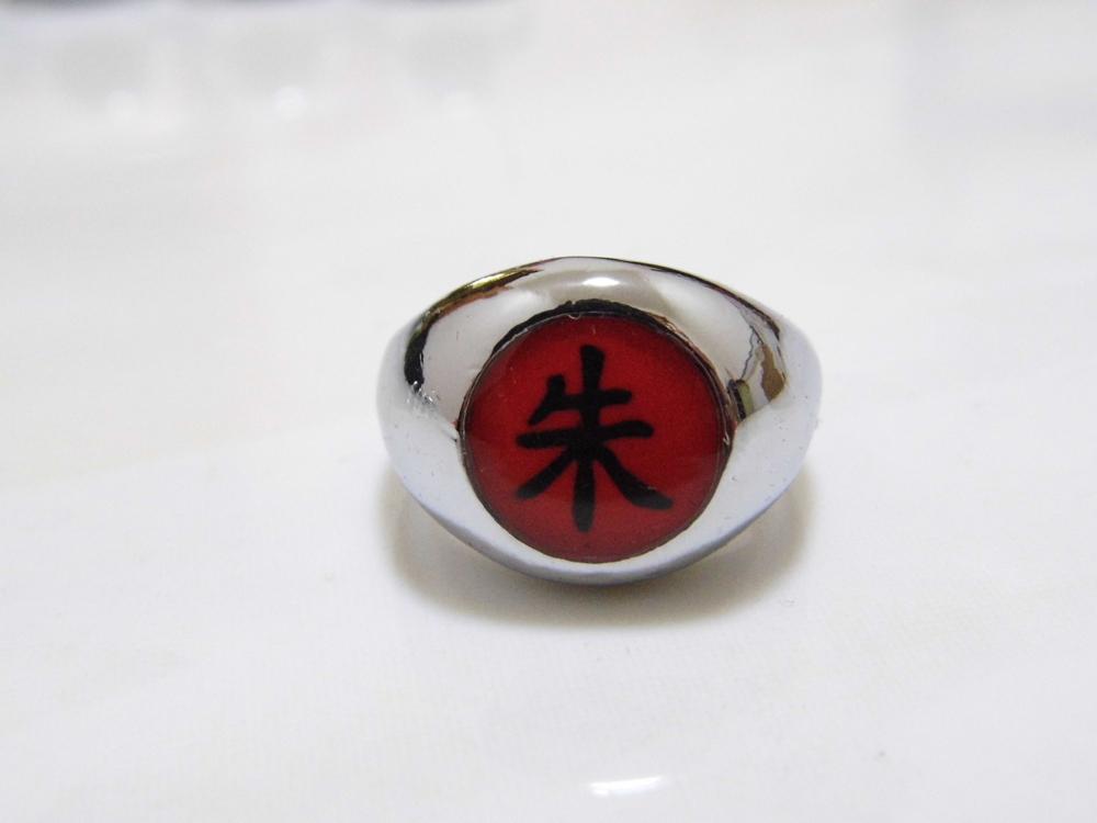 Naruto shippuden Akatsuki Organization member's ring Itachi-Zhu(China (Mainland))