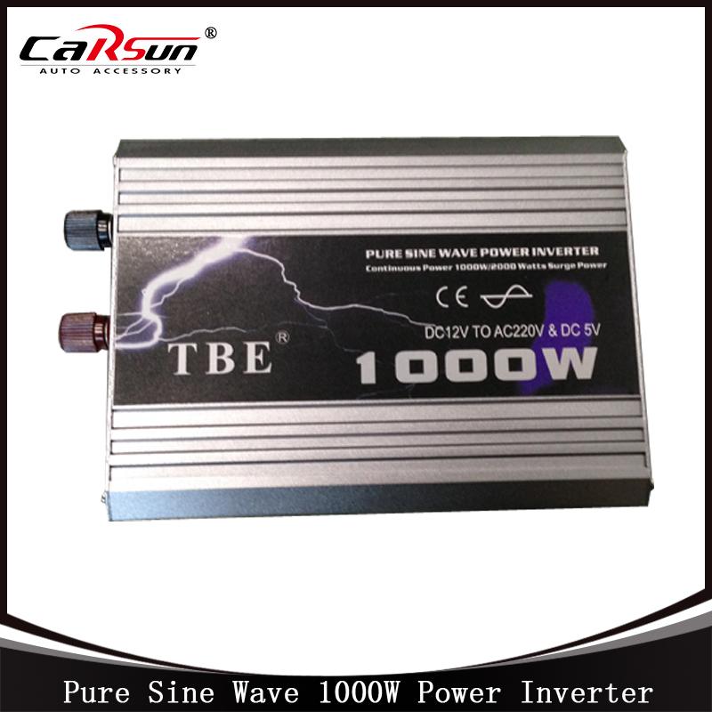 DC12V to AC220V 1000W Pure Sine Wave Car Power Inverter Grid Tie Solar Inverter Power Inverter For Solar and Wind Hybrid(China (Mainland))