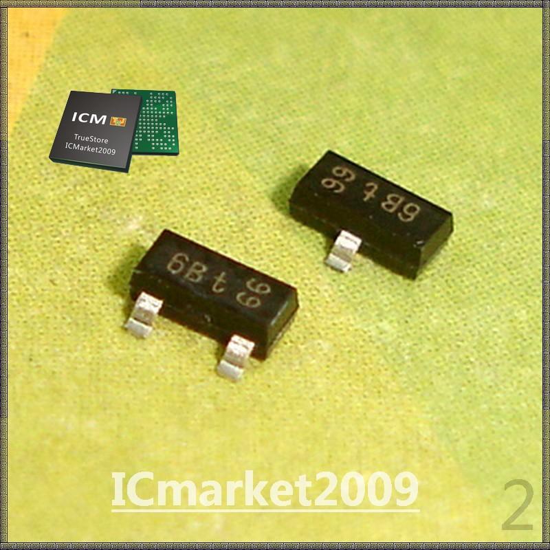 500 PCS BC817-25LT1G BC817-25 6B SOT-23 BC817 NPN general purpose transistor(China (Mainland))