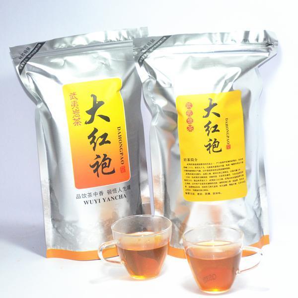 250g Top Grade Dahongpao Tea Big Red Robe Oolong Wu Long Weight Loss Da Hong Pao Black Tea(China (Mainland))