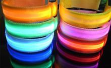 100pcs/lot Sports Bike Armband Belt Strap Safety Reflective LED Arm Band