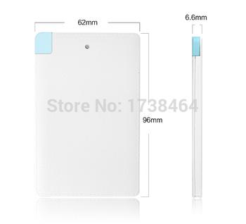 Ульта тонкий 3000 мАч Powerbank литий-полимерная батарея резервного питания для iphone6 брендированных телефонов бесплатная доставка стоимость доставки новое поступление аккумулятор для мобильный