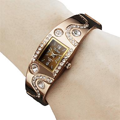 2015 Clock Female Dress Woman Watch Rose Gold Round Dial Fashion Steel Bracelet WristWatch lady gift Relogio Feminino(China (Mainland))