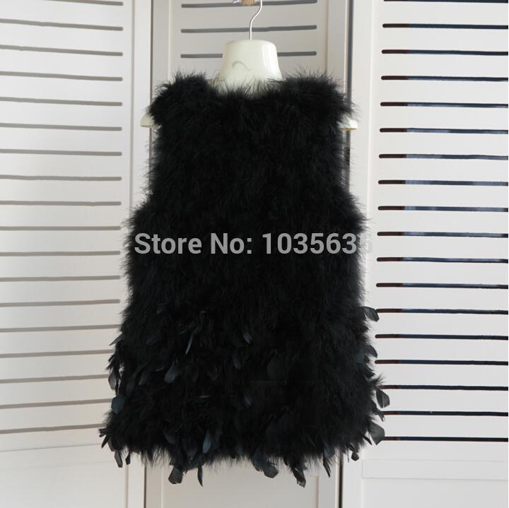 Новое поступление реальная страуса меховой жилет женщины природный меховой жилет женский tfp471 бесплатная доставка бренд мода меха