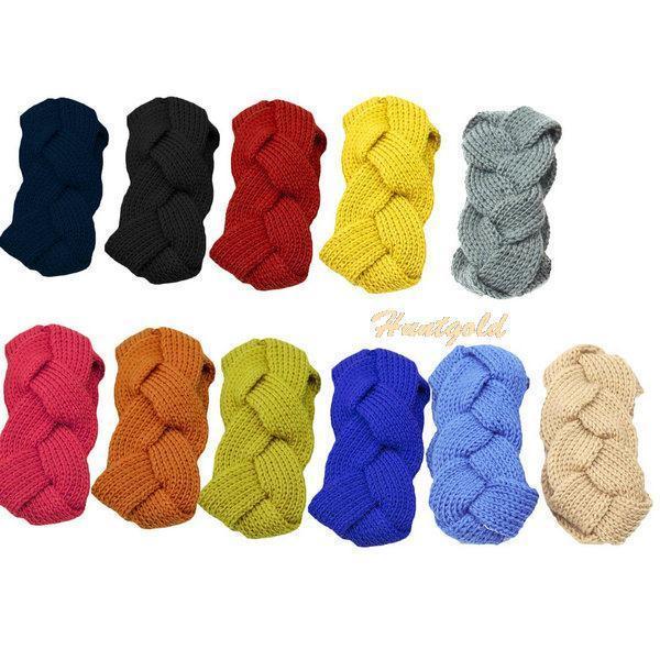 [해외]1Pc  Solid Hand-woven Holiday Gifts Manual Knitting..