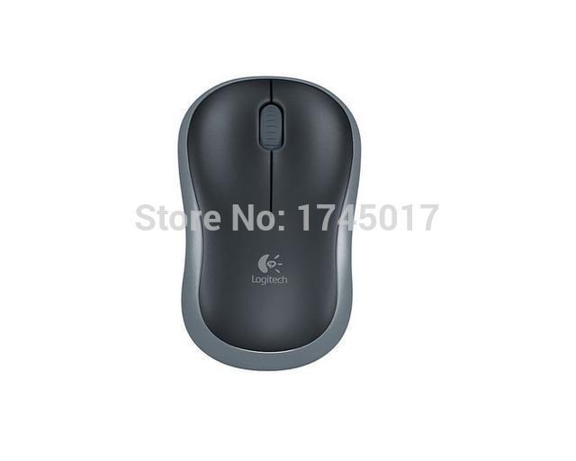 Logitech M185 Wireless Mouse 2.4G Optical 15M Wireless Mouse Desktop/Laptop MICE Nano USB Receiver(China (Mainland))