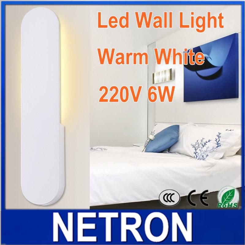 6w led wandlamp moderne badkamer toilet ac220v lezen wandlamp slaapkamer decoratie licht in 100 - Originele toiletdecoratie ...