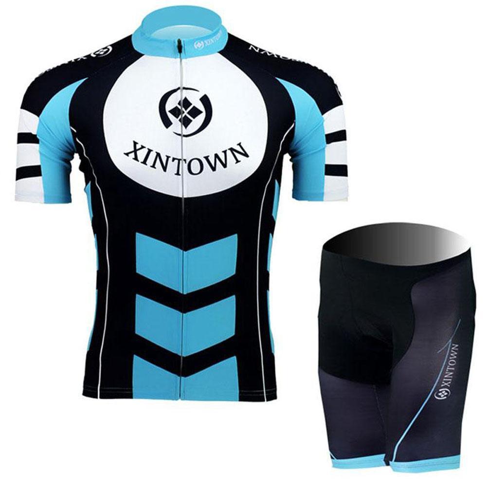 Riding Jersey Shorts Set Men Bike Cycling Clothing Ciclismo Riding Short Sportwear Fitness Hot Sale S-3XL(China (Mainland))