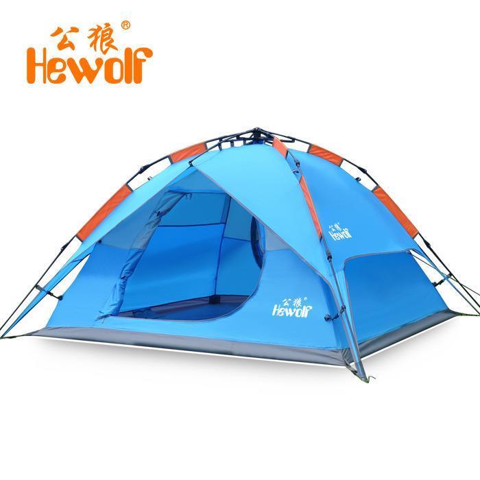 Туристическая палатка HEWOLF 3/4 1768 палатка туристическая husky bizon 3 classic цвет зеленый