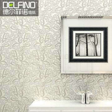 German imports of non-woven wallpaper Delfino bedroom, living room TV backdrop wallpaper European minimalist(China (Mainland))