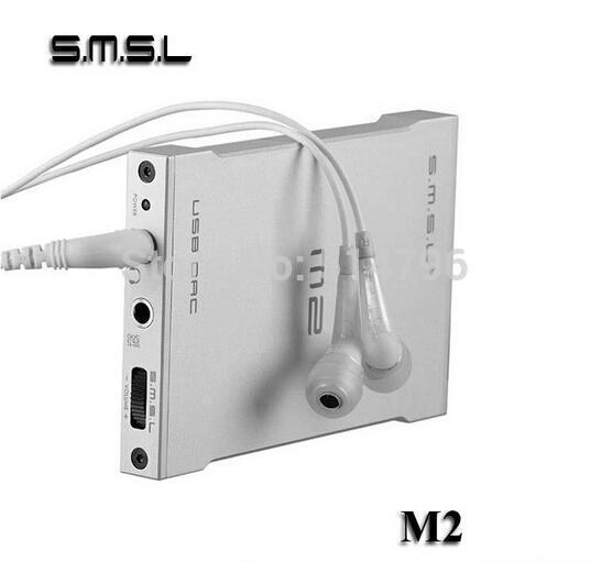 SMSL M2 Portable Headphone Amplifier USB Decoder DAC External Sound card Built-in Amp Fiber/Optic & Analog Output(China (Mainland))