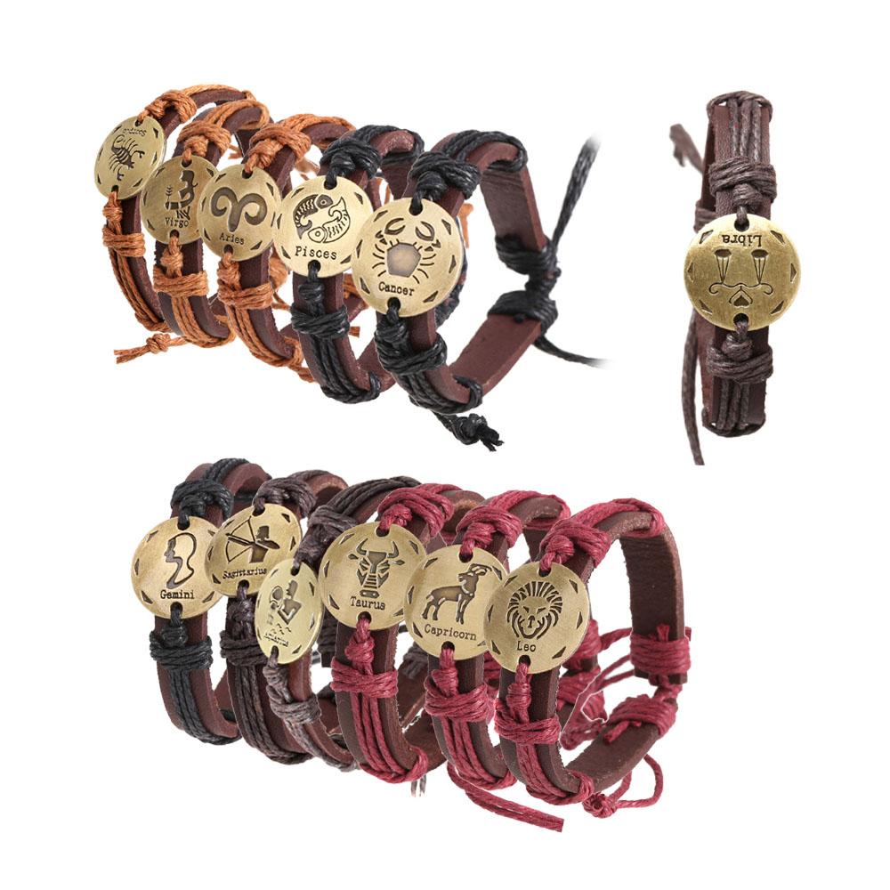 Браслет Tomtop 12kinds 2015 12 12 Zodiac Bracelet