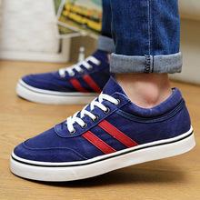 2014 new spring men s canvas shoes shoes wholesale Korean version of Metrosexual sports fashion leisure