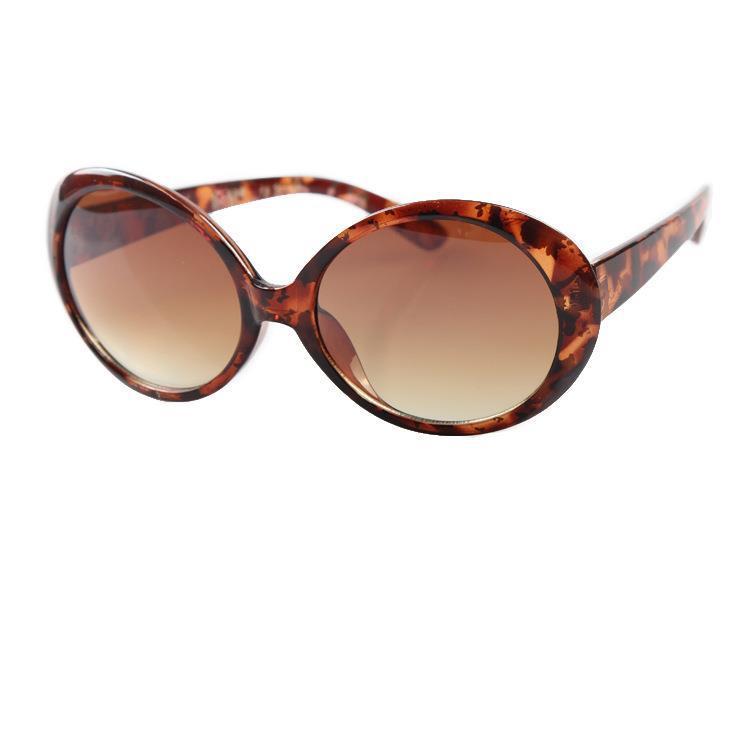 Female Vintage Oval Sunglasses Women Fashion Sun Glasses UV400 Polarized New(China (Mainland))