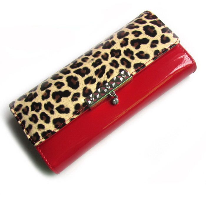 2015 new arrival hot sale leopard style patent leather Women's Purse/Clutch Evening Bag/women handbag WLHB1037(China (Mainland))