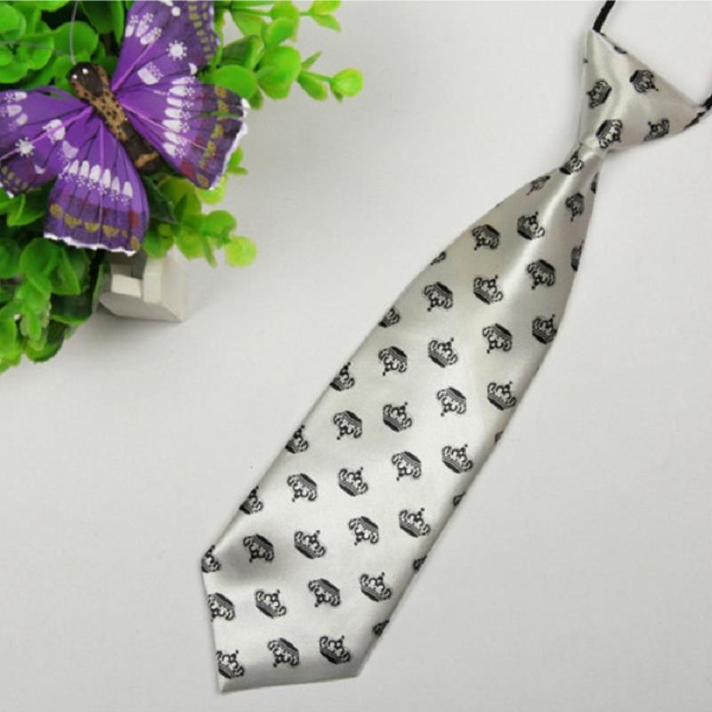 brand ties gravata corbatas hombre Crown Children 28cm-6cm necktie wedding dress pajaritas hombre4429(China (Mainland))