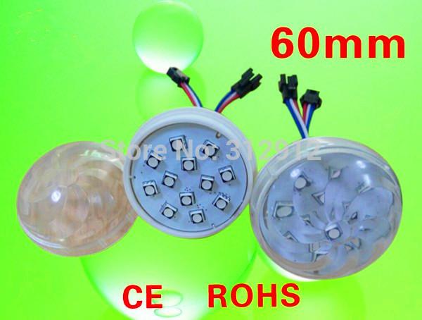 60mm amusement park led pixel light;12leds 5050 ;DC12V;2.88W;IP65;UCS2903 IC;addressable(China (Mainland))