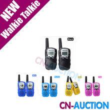 T-388 Mini Walkie Talkie UHF 462.550-467.7125MHz 0.5W 22CH For Kid Children LCD Display A0762Z 2pcs/set