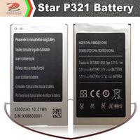 Star P321 3300mAh Lithium Phone Battery & Desktop Charger, smart phone battery freeshipping
