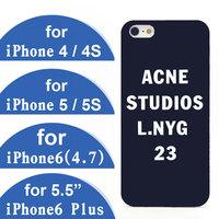 acne studios case for iphone 5 6 plus 4.7 inch 5.5 inch