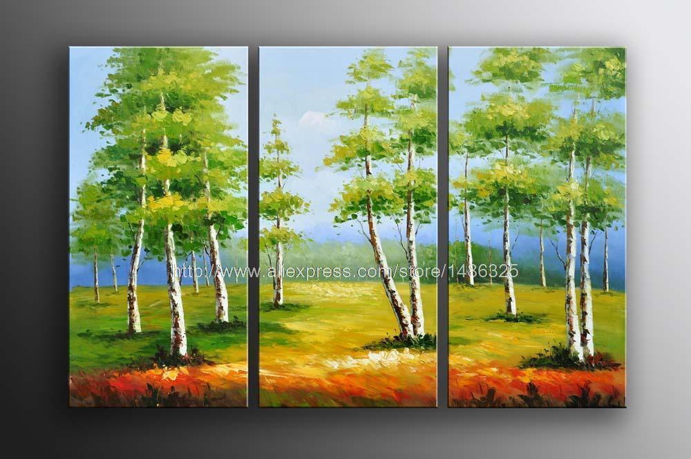Oil Tree Paintings Tree Oil Painting Oil