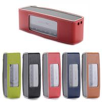 PU Leather Case Cover Skin Pouch For Bose Soundlink Mini Bluetooth Speaker Travel Bag Speaker Case 5 Colors