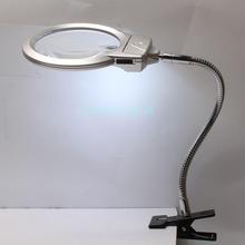 2.25 X 5 X 107 MM 22 MM bureau lampe LED haut - serré tuyau métallique loupe loupe réparation de montre outil 22000694(China (Mainland))